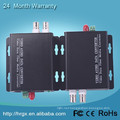 2 channel single fiber single mode video transmitter audio to ip converter