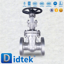 Didtek high quality Oil Bolted cast steel investment casting gate valve