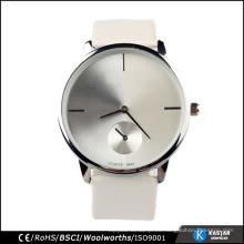 Caja de la aleación del reloj de pulsera del movimiento de Japón de los hombres