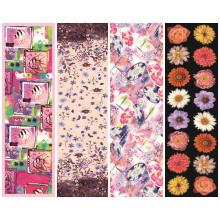 Wholesale 100% reine Seide Custom Printed Schals (C-031)