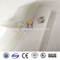 uv protected colored u lock polycarbonate sheet