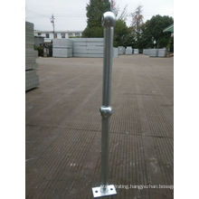 Steel Stanchion with Galvanized Finish