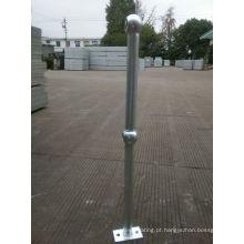 Poste de aço com revestimento galvanizado