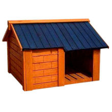 Wooden Dog House Kennel, Small Size of 60*50*60cm