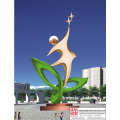Hand Carved Famous Stainless Steel Sculpture