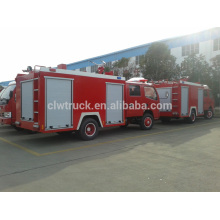 Best price 3ton dongfeng fire truck, 4x2 mini china fire fighting truck price