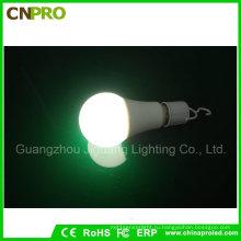 Белый свет E27 5Вт интеллектуальный Экстренный Лампа энергосберегающая светодиодная лампа для кемпинга