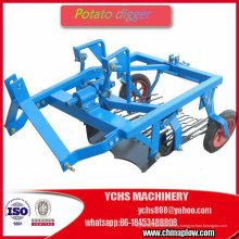 Granja implemento cosechadora de patatas montado Tractor 25HP