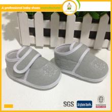Самый продаваемый хлопок дешевый младенец nap ткань случайный ребенок дети обувь