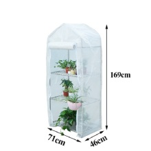 Professional for Vegetables Glass Greenhouse Skyplant Walk in Mini Garden Greenhouse supply to Nepal Wholesale