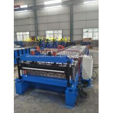 Wellblechmaschine aus verzinktem Stahl der IBR-Dachplatte