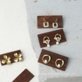 Wooden Earring display rack for jewelry shop