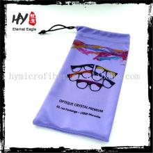 Brand new cute eyeglasses case / melhor qualidade nylon material de óculos de sol saco