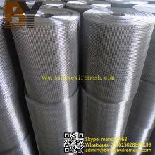 Material de construcción Acero inoxidable Acoplamiento de alambre soldado