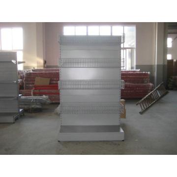 Supermercado y equipo de exhibición de la tienda / Metal Gondola Storage Shelf & Rack System
