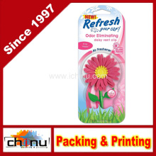 Refresh Daisy Vent Clip Car & Home Odor Eliminating Air Freshener- Pink Petals Scent (450051)