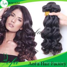 Дешевые оптовые монгольский волос ткачество объемная волна пучки
