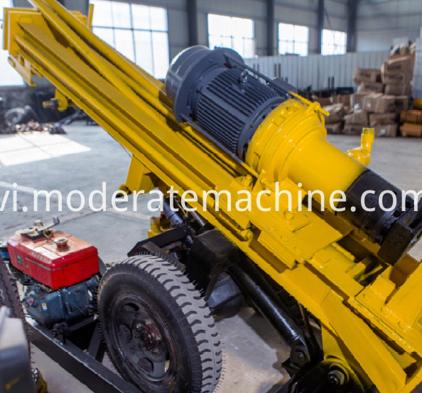 KQZ200D water well drilling rig 006