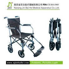 Silla de ruedas manual de alta calidad para minusválidos