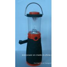 Plastic recarregável manivela 4LED dínamo lanterna (DL-5008)