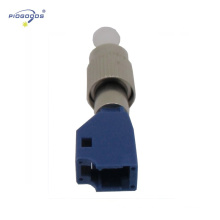 manga de cerámica de alta precisión solo modo FC-LC macho a hembra acoplador de fibra óptica
