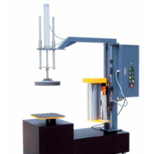 Mini carton box stretch film wrapping machine
