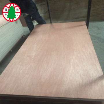 16mm Okoume BBBB Finished Plywood Sheet