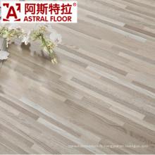 Plancher en bois classique de WPC de grain