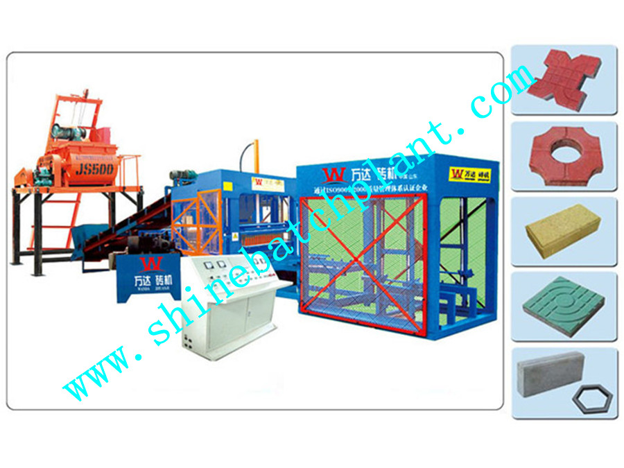Baking Free Brick Making Machine