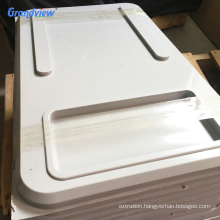 opal white ABS plastic panel for thermoforming