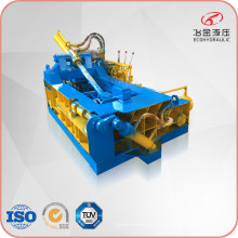 Mobile hydraulische horizontale Metallschrottballenpresse