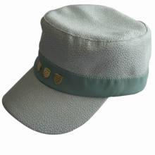Tapa plana plana de alta calidad personalizada, sombrero militar del ejército