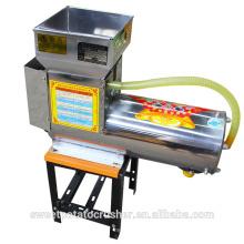 Pó de aço inoxidável da batata da mandioca da batata doce 2.2KW que faz a máquina