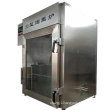 WKS-50 Factory Price Industrial Mechanical Smokehouse Equipment Smoked Salmon Processing Machine Smoking Meat Smoking and Drying