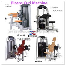 nuevo Pin Loaded Biceps Curl Machine / Arm Curl equipos de gimnasio para la venta / equipo de gym de fuerza comercial en China