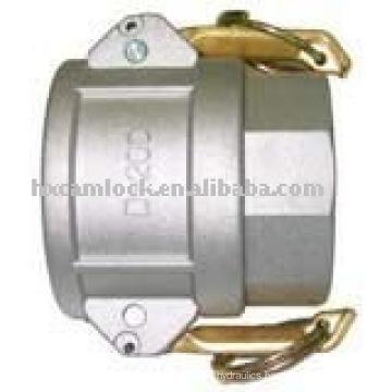 Aluminum quick couplings type D