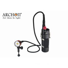 Archon Batería Canister Buceo Lámparas Video Impermeable 100m