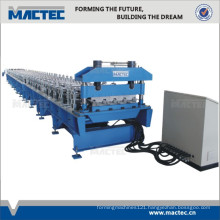 Top quality steel structural floor decking roll forming machine