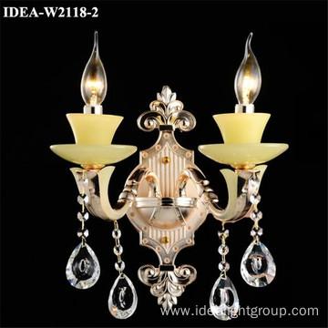 bedside wall lamp crystal sconce chandelier