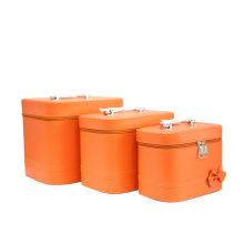 Leuchtend orange Tasche Make-up Tasche hoher Qualität