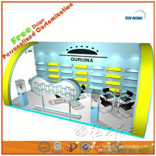 Material modular da exposição da mostra do modelo para o suporte de exposição da cabine de exposição para o expositor