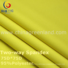 190t Polyester Spandex Dyeing Fabric for Textile Garment (GLLML239)