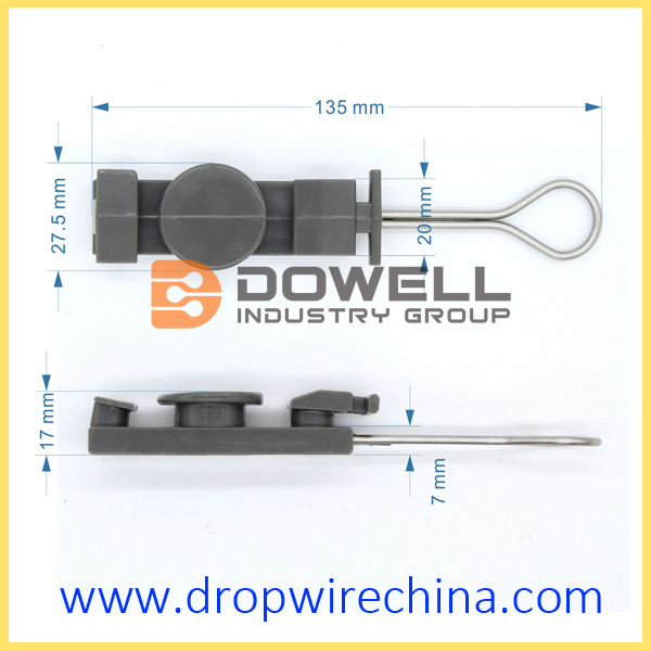 Plastic Drop Wire Clamp
