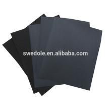 Papel de lija de carburo de silicio negro, herramientas de molienda.