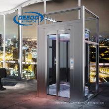 Домашнего Использования Пассажирского Стеклянный Лифт