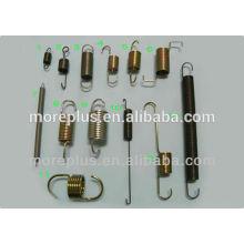 Fabriqué à Taiwan différents types de torsion à bobines plates Ressorts à haute tension Ressorts à faible tension