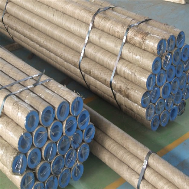 Seamless steel tubing packing
