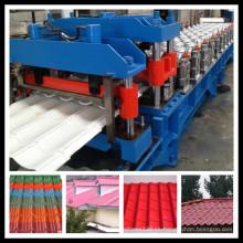 Color de azulejos de acero que forma la máquina