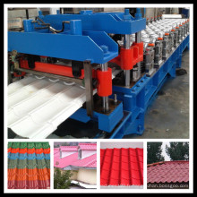 Machine de formation d'acier de tuile de couleur