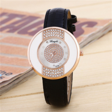 New Style Women Leather Quartz Watch